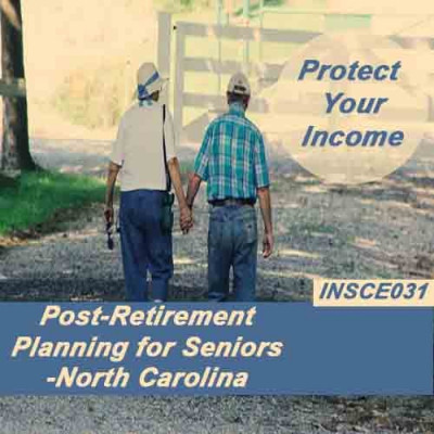 North Carolina - Post-Retirement Planning for Seniors (INSCE031)